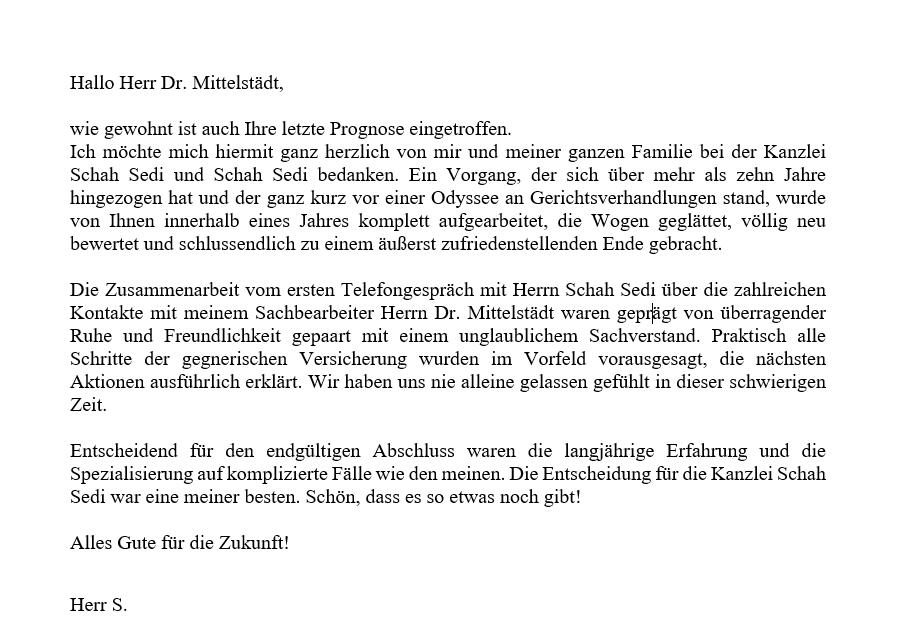 Herr S. aus Bayern