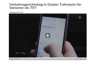 Video Sat1 Verkehrsgerichtstag in Goslar